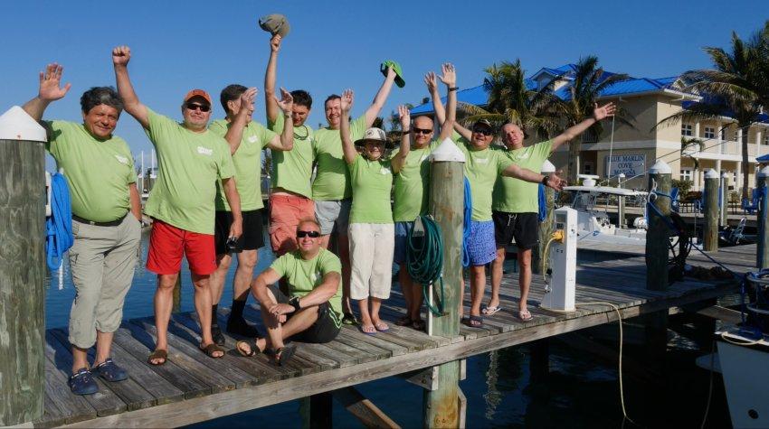 В феврале мы провели удивительный проект на багамских островах