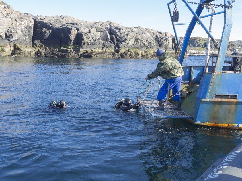 баренцево море дальние зеленцы рыбалка