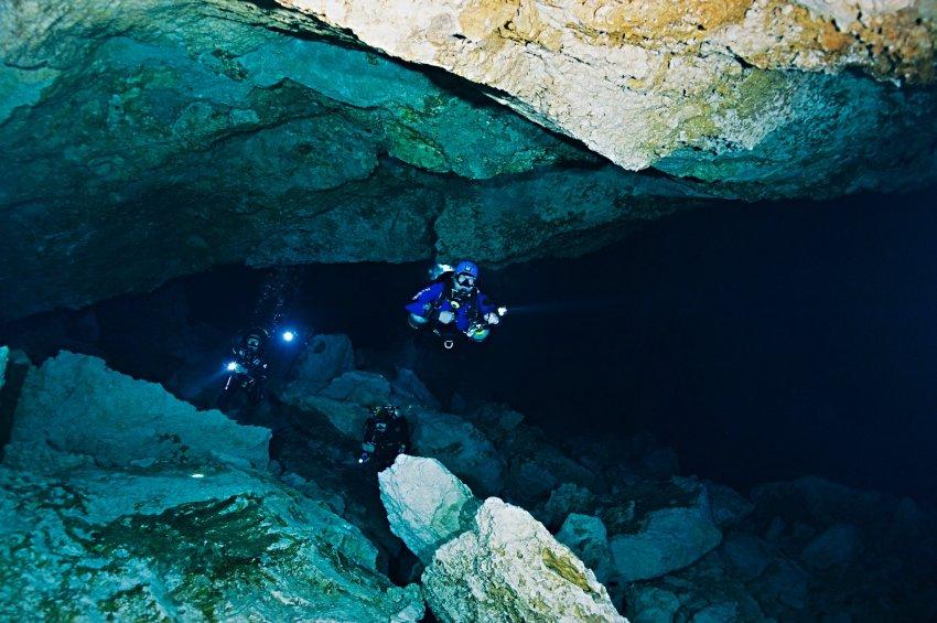 Intro To Cave Diver | Группа RuDIVE: http://www.dive.ru/obuchenie/intro-cave-diver