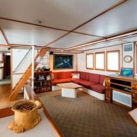 Дайвинг-сафари на Кокосе, судно Argo, гостиная