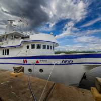 Судно Argo, дайвинг-сафари на острове Кокос. Автор фото Илья Труханов