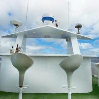 Бар на открытой палубе на судне Galapagos Master