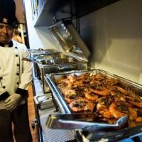 Пример блюд на судне Galapagos Master