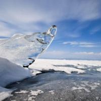 Подледный дайвинг на Байкале. Байкальский лед