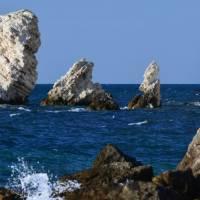 Дайвинг на Черном море. Мыс Тарханкут