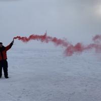 Сигнал вертолету. Экспедиция RuDIVE «Бельки Белого моря - 2019»