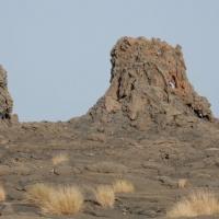 Базальтовая лава. Эфиопия. Автор фото Вячеслав Кузнецов. RuDIVE