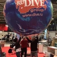Выставка Moscow Dive Show - 2019. Планета RuDIVE