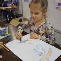 Выставка Moscow Dive Show - 2019. Конкурс детского рисунка