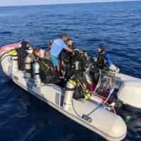 Яхта Neo для дайвинг-сафари в Египте на Красном море. Зодиак. Фотобанк RuDIVE