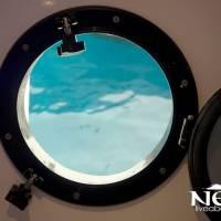 Яхта Neo для дайвинг-сафари в Египте на Красном море. Иллюминатор в каюте