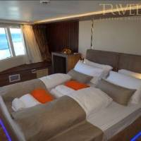 Яхта Neo для дайвинг-сафари в Египте на Красном море. Каюта сьют
