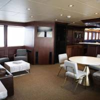Яхта Socorro Vortex, гостиная комната - кают-компания