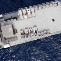 Яхта Socorro Vortex, верхняя палуба
