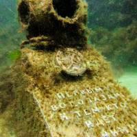 Дайвинг на Черном море. Мыс Тарханкут. Подводный музей
