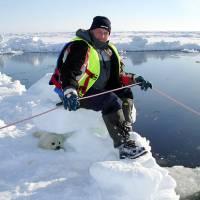 Наблюдение за бельками, экспедиция RuDIVE в 2007 году