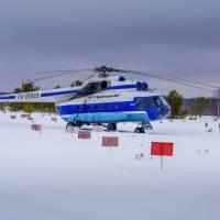 Наблюдение за бельками. Вертолет. Автор фото Илья Труханов. Тур RuDIVE
