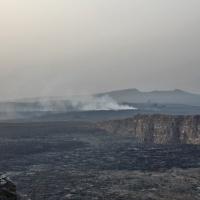 Эфиопия. Рассвет в кратере вулкана Эрта-Але. Автор фото Вячеслав Кузнецов. RuDIVE